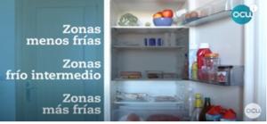 el frigorífico y su temperatura son claves para el orden en la despensa